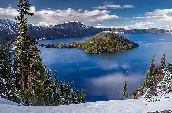 Greg Nyquist - Afternoon Clearing at Crater Lake