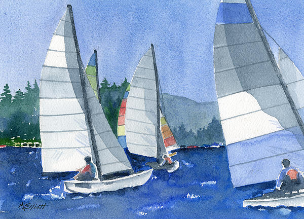 Marsha Elliott - Afternoon Sail