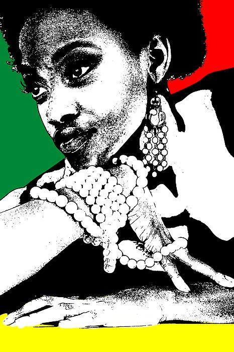 Aisha Jamaica Print by Naxart Studio
