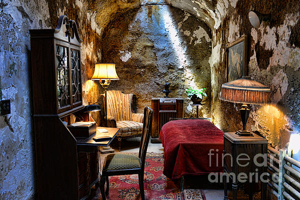 Al Capone's Cell - Scarface - Eastern State Penitentiary Print by Paul Ward