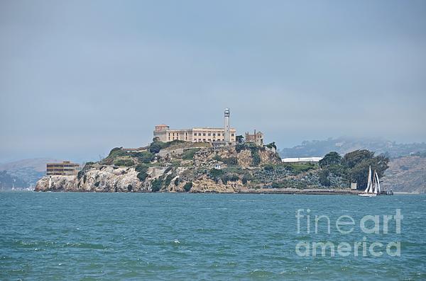 Alcatraz Island Print by Cassie Marie Photography