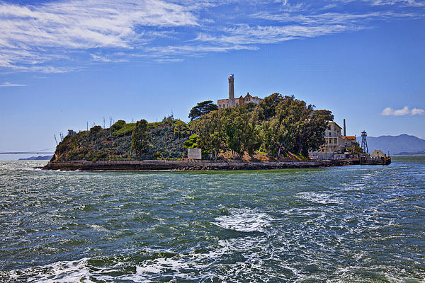 Alcatraz Island San Francisco Print by Garry Gay