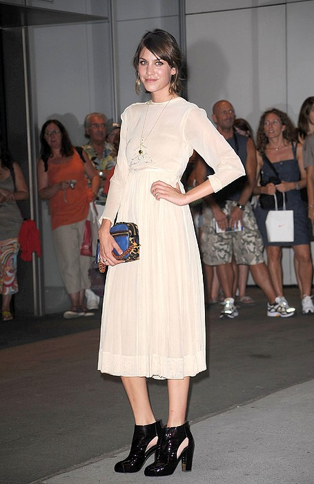 Alexa Chung At Arrivals For The Print by Everett