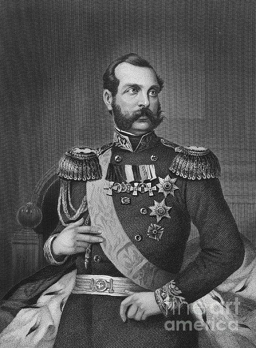Alexander II (1818-1881) Print by Granger
