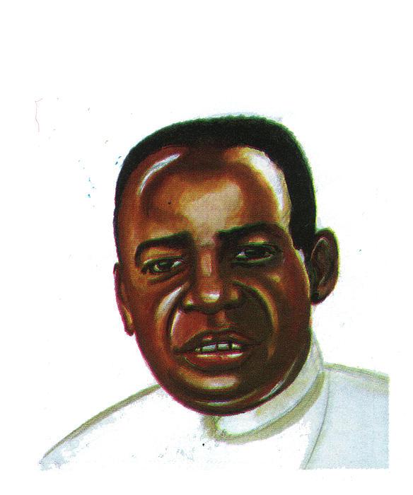 Alexis Kagame Print by Emmanuel Baliyanga