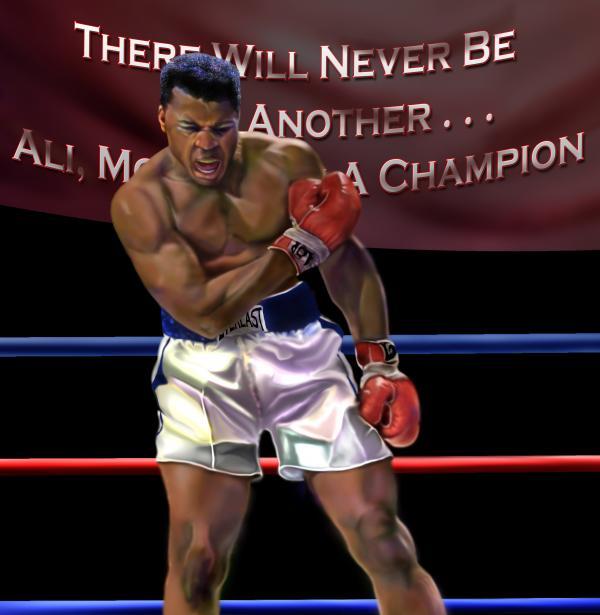 Ali - More Than A Champion Print by Reggie Duffie