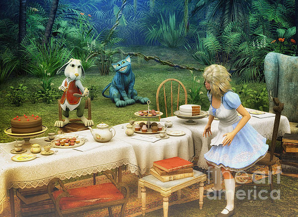 Jutta Maria Pusl - Alice in Wonderland