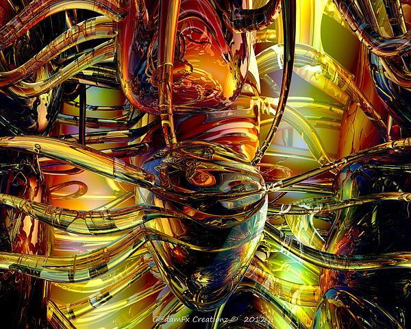 G Adam Orosco - Alien Abstract Heart Fx