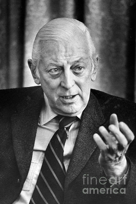 Alistair Cooke (1908-2004) Print by Granger