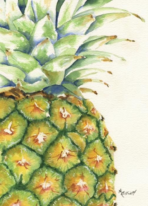 Aloha Print by Marsha Elliott