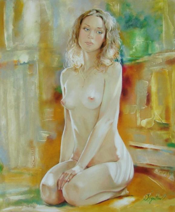 Alone At Home Print by Sergey Ignatenko
