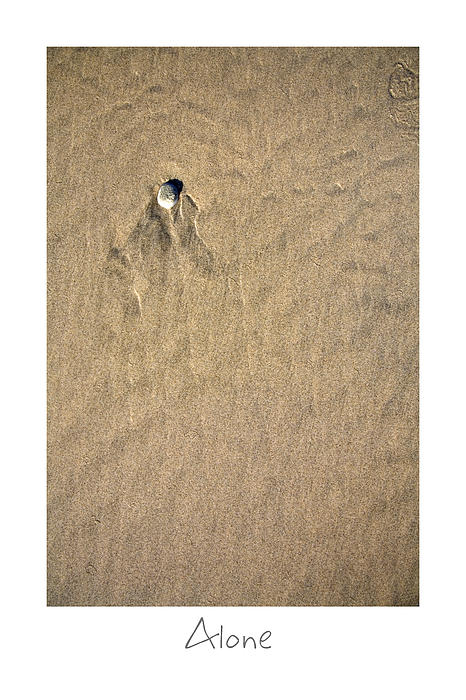 Alone Print by Peter Tellone