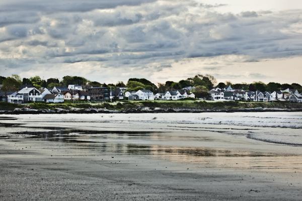 Along The Beach Print by Joel P Black
