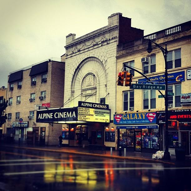 Alpine Cinema/bay Ridge #bayridge Photograph  - Alpine Cinema/bay Ridge #bayridge Fine Art Print