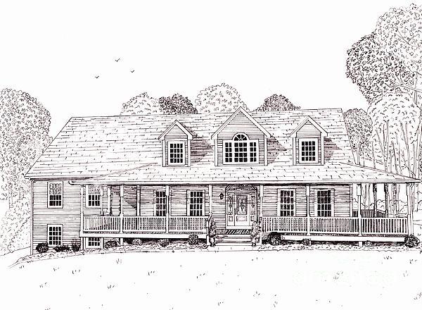 Al's House   Print by Michelle Welles