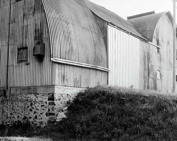 Aluminum Unique Barn Section Print by Jan Faul