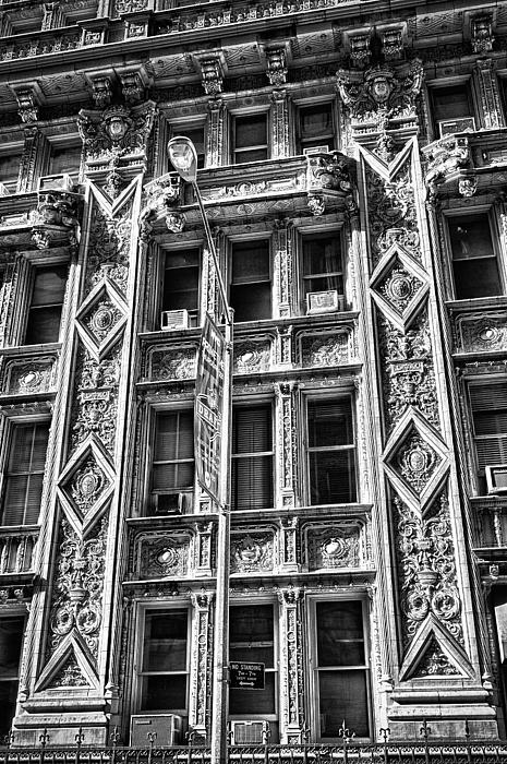 Alwyn Court Building Detail 15 Print by Val Black Russian Tourchin