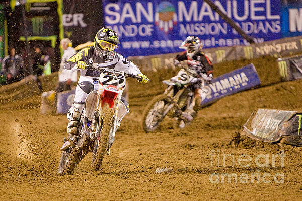 Daniel  Knighton - AMA Supercross in San Diego