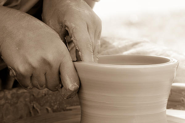 Amazing Hands Print by Emanuel Tanjala