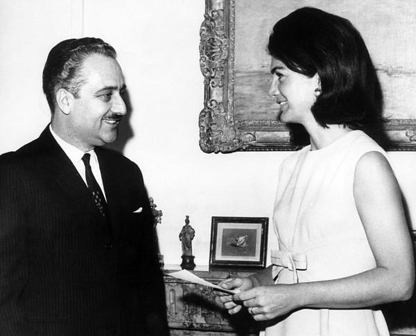 Ambassador Talat Al-ghoussein Of Kuwait Print by Everett