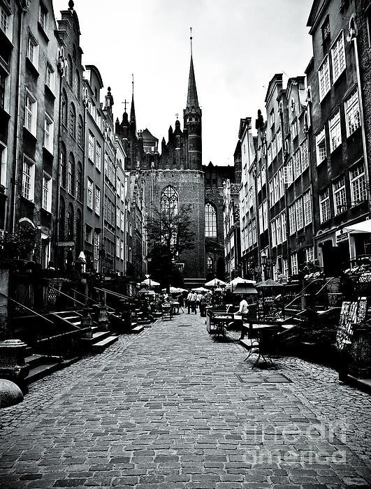 Amber Alley In Gdansk