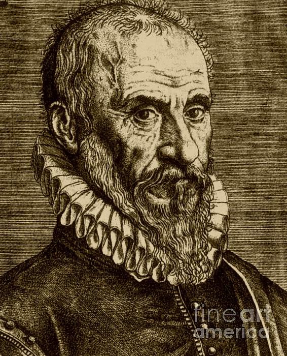 Ambroise Par�, French Surgeon Print by Science Source