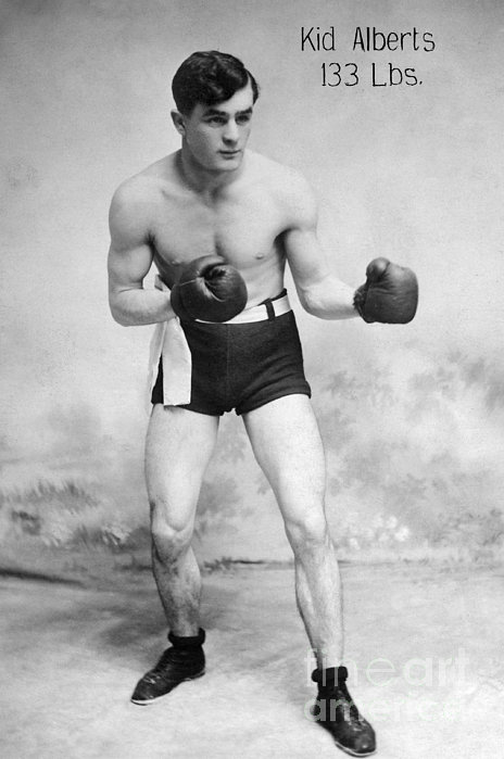 American Boxer, C1912 Print by Granger