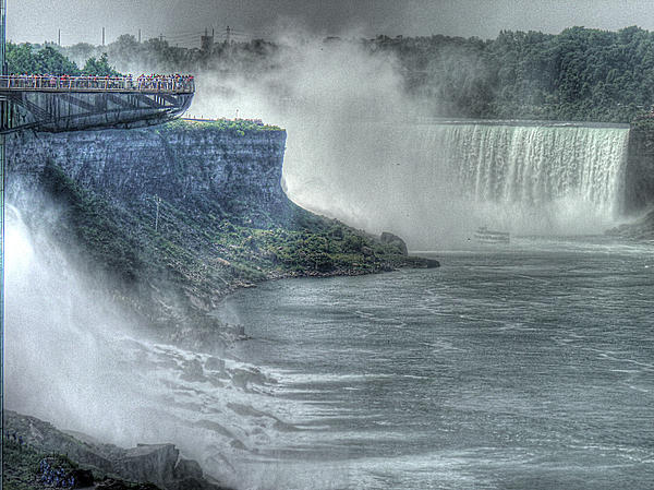 American Falls Print by William Fields