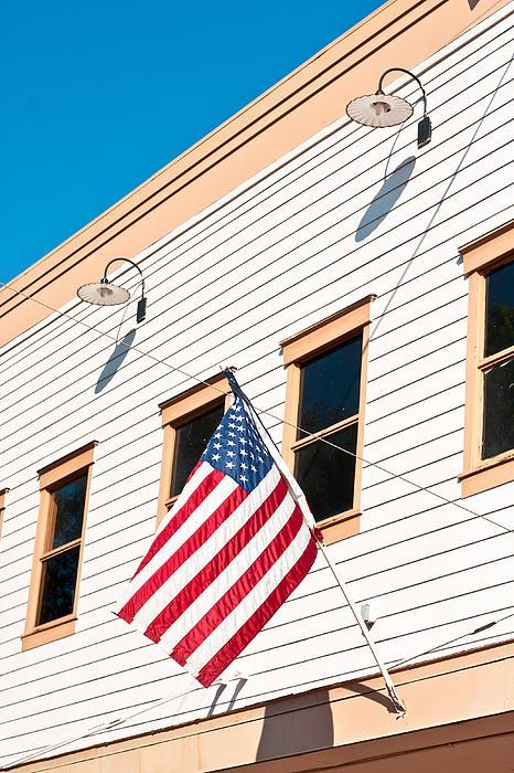American Flag Print by Tom Gowanlock