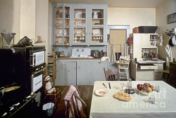 American Kitchen Print by Granger