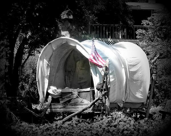 Cindy Wright - Americana Covered Wagon