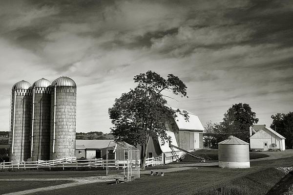 Amish Farmstead II Print by Steven Ainsworth