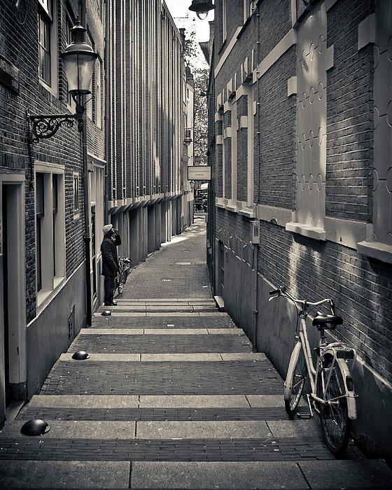 Amsterdam Print by Adam Romanowicz