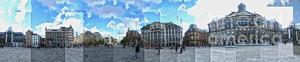 Amsterdam - Dam Square - 01 Print by Gregory Dyer