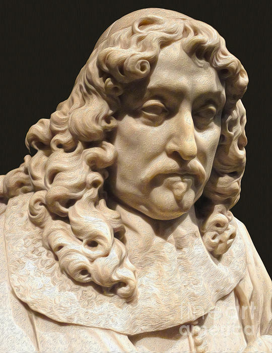 Amsterdam Rijksmuseum Classic Bust - 03 Print by Gregory Dyer