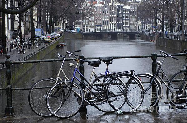 Amsterdam The Netherlands Print by Bob Christopher