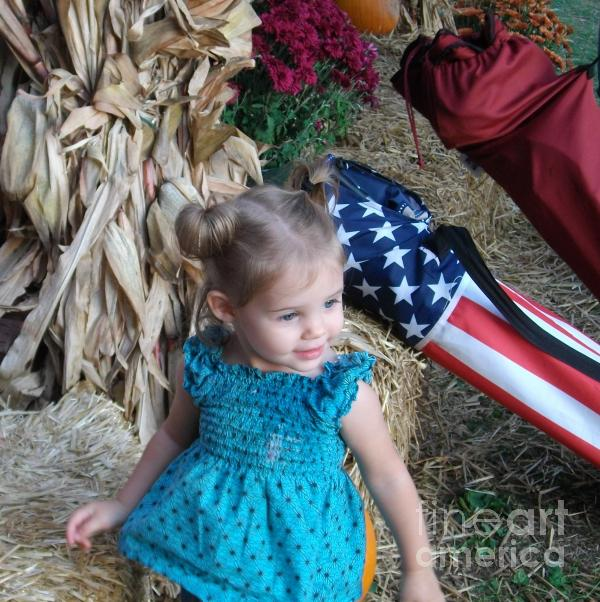 An American Girl Photograph