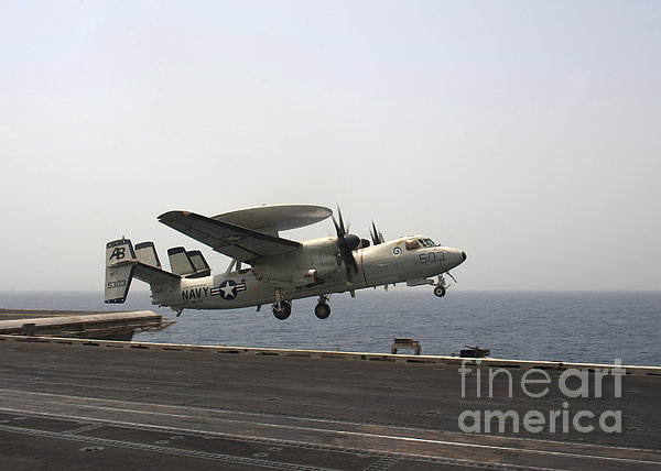 An E-2c Hawkeye Takes Print by Stocktrek Images