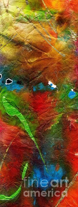 An Earthy Feeling Print by Angela L Walker