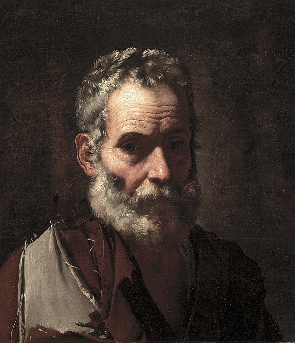 An Old Man Print by Jusepe de Ribera