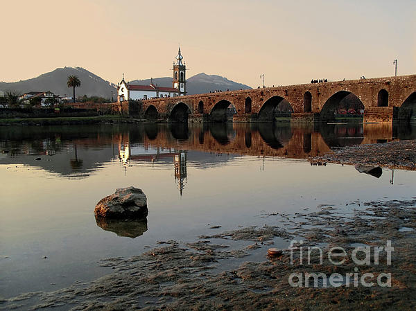 Ancient Bridge Print by Carlos Caetano