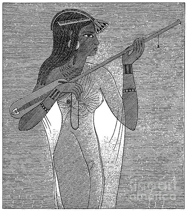 Ancient Egypt: Music Print by Granger