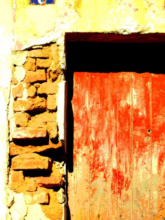 Ancient Wall 10 By Michael Fitzpatrick Print by Olden Mexico