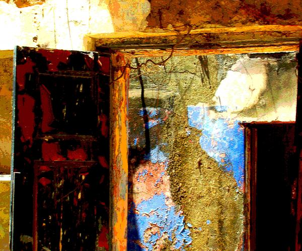 Ancient Wall 3 By Michael Fitzpatrick Print by Olden Mexico