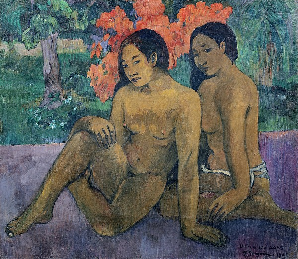 And The Gold Of Their Bodies Print by Paul Gauguin