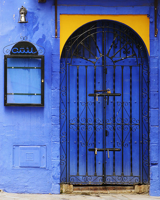 Greg Matchick - Andalusian Blue Door