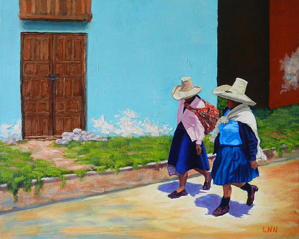 Ningning Li - Andean ladies