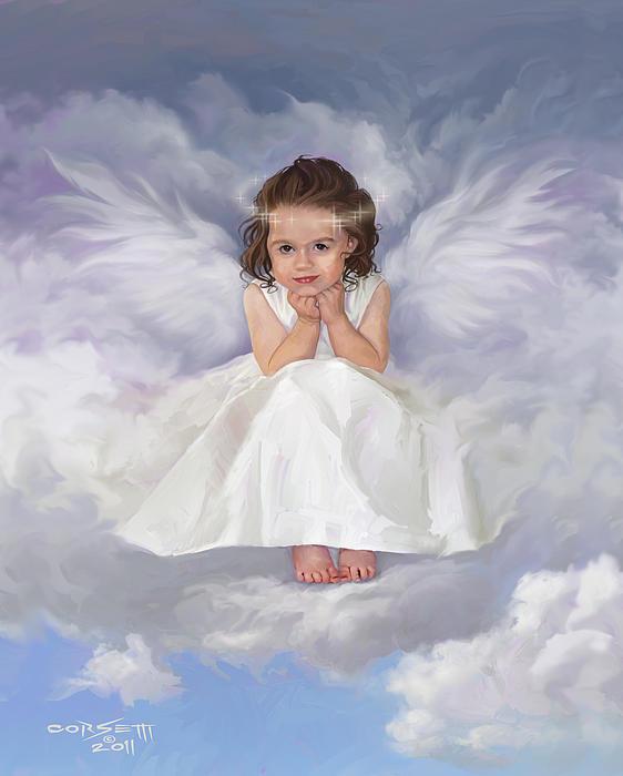 Angel 2 Print by Rob Corsetti