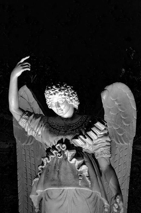 Angel Print by Bonnie Myszka