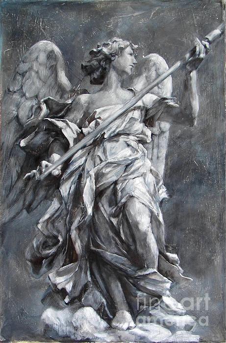 Angel Of Hope Print by Kristina Laurendi Havens